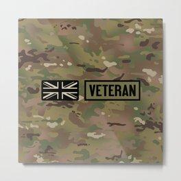 British Veteran (Camo) Metal Print