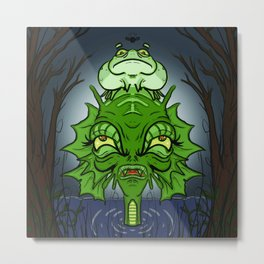 Black Lagoon Metal Print