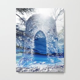 Blue Castle Metal Print