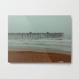 Life's a Pier Metal Print