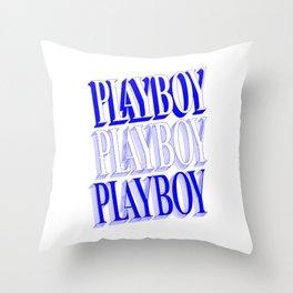 Play boy Throw Pillow