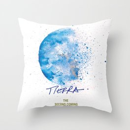 Tierra Second Coming Throw Pillow