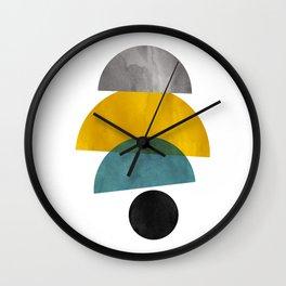 Modern Mid-Century 28 Wall Clock