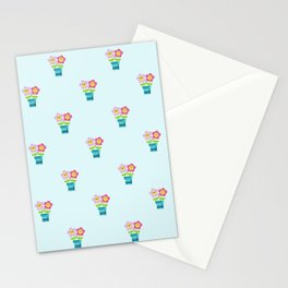 Kawaii Spring lovers pattern Stationery Cards