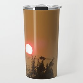 Smoky Sunset Travel Mug