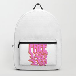 Feeling,:FREE Backpack
