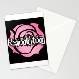 Grant me the power to bring the world revolution! Stationery Cards