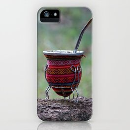 The perfect infusion: the argentinian's mate iPhone Case