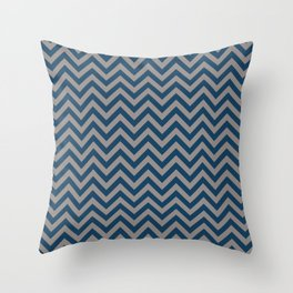 SIMPLE CHEVRONS 06 Throw Pillow