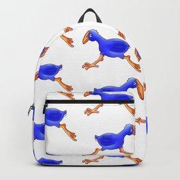Running Pukeko - Swamp hen Backpack