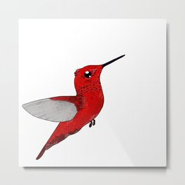 Noni's Hummingbird Metal Print