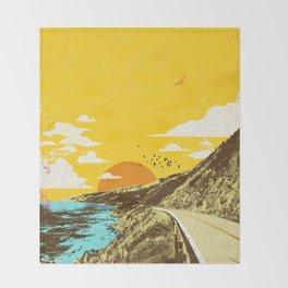 CALIFORNIA COAST Throw Blanket