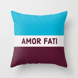 AMOR FATI - STOIC WISDOM Throw Pillow