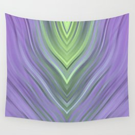 stripes wave pattern 3 cl Wall Tapestry