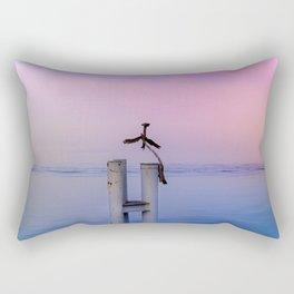 The guardian of time Rectangular Pillow