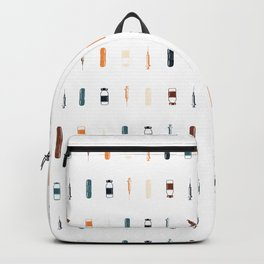 Vintage Vaccines - Small on White Backpack