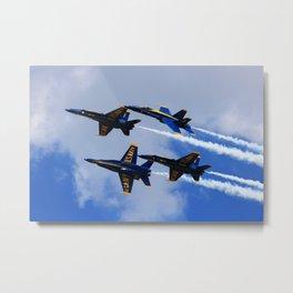 US Navy Blue Angels Metal Print