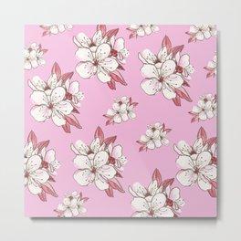 X-tra Ordinary Cherry Blossoms Metal Print