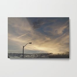 Light pole Metal Print