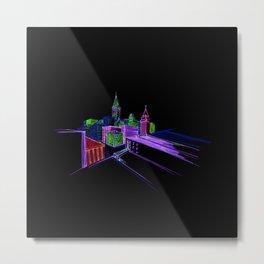 Vibrant city 3 Metal Print