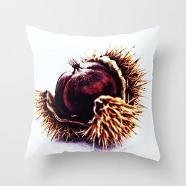 Prickly Little Bitch Throw Pillow