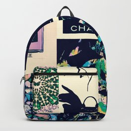 CC No.5 Fashion Collage Backpack