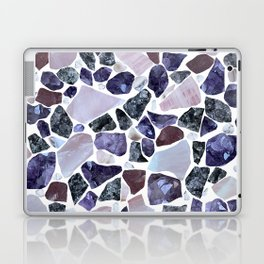 Gemstone Mosaic - White Grout Laptop & iPad Skin