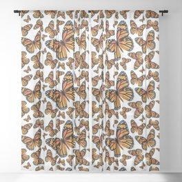 Monarch Butterflies   Monarch Butterfly   Vintage Butterflies   Butterfly Patterns   Sheer Curtain