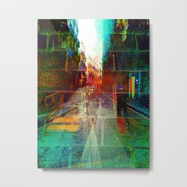 Roll overture ignition generation. Metal Print