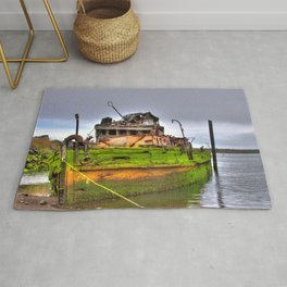 Mary D. Humes at the port of Gold Beach Rug
