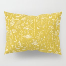 Woodland Walk / Mustard Pillow Sham