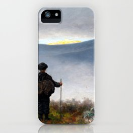 Theodor Kittelsen Far, Far Away Soria Moria Palace Shimmered Like Gold iPhone Case