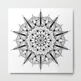 Mandala collection 3 Metal Print