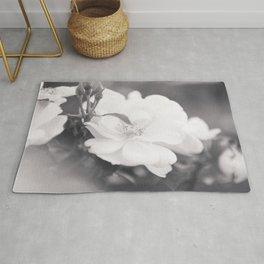 Rose Garden - Flower Photography Rug