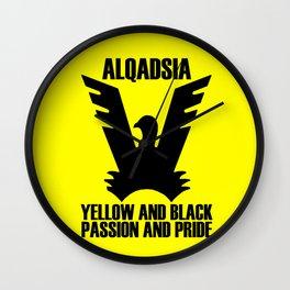 Slogan: AlQadsia Wall Clock