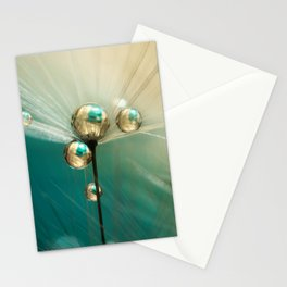 Dandy with Drops of Gold and Jade Stationery Cards