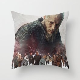 The Heart Of A King Throw Pillow