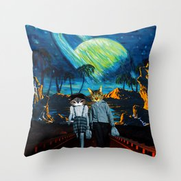 Thieves & Lovers Throw Pillow