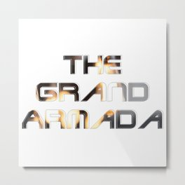 The Grand Armada Metal Print