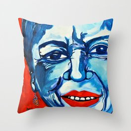Ometeotl En El Cielo Gloria E Anzaldua Throw Pillow