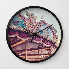 On the Piazza Wall Clock