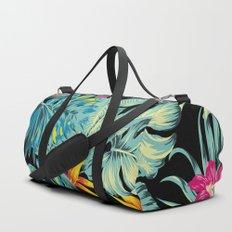 Tropical Greenery Island Dreams Duffle Bag