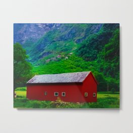 My Barn Metal Print