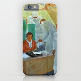African American Masterpiece Education & Medicine - Pursuit of Happiness by Vertis Hayes iPhone Case