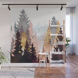 Wine Forest Wall Mural