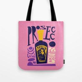 Prosecco Mermaid Tote Bag