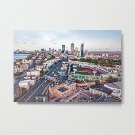 Boston City Metal Print
