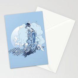 Alolan Ninetales Daji Stationery Cards