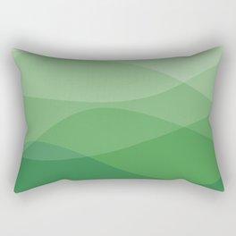 Waves: Forest Bathing Rectangular Pillow