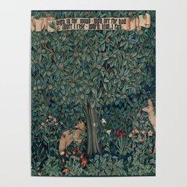 William Morris Greenery Tapestry Pt 2 Poster